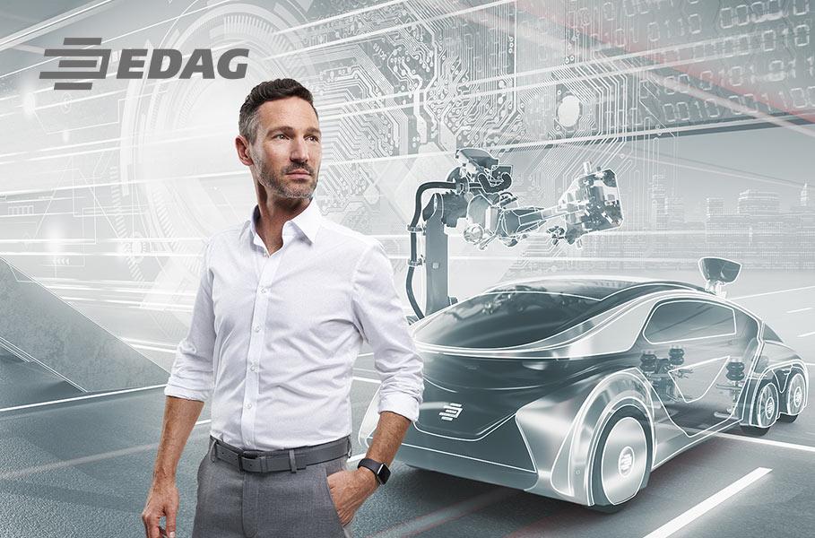Key Visual: technology and vehicle development/vehicle construction